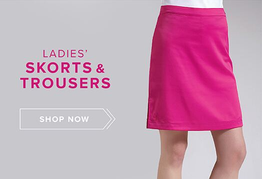 Ladies' Trousers, Shorts and Skorts