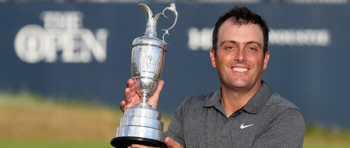 Molinari wins Open to become first Italian major champion