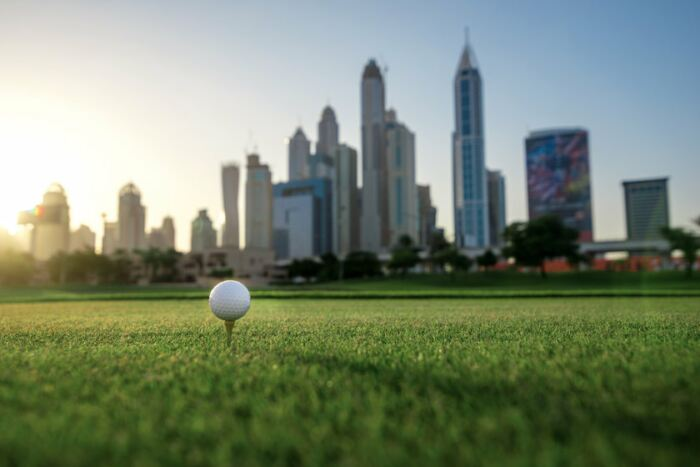 Our guide to golfing in Dubai