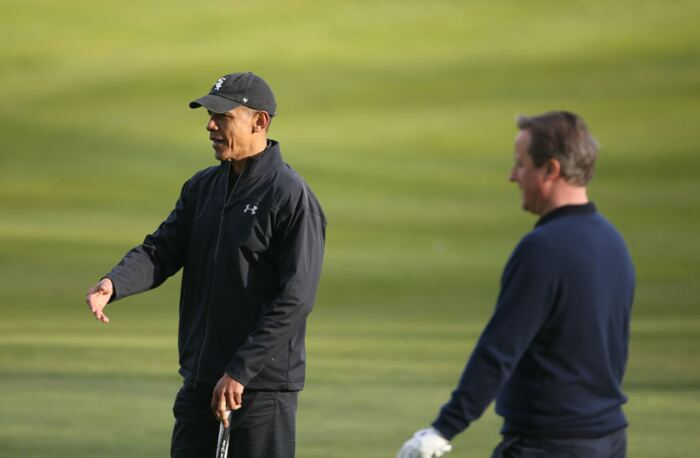 A history of golfing presidents