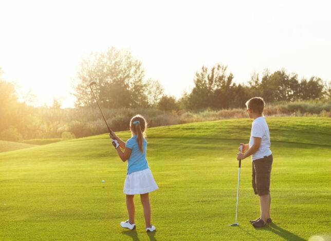Top tips for getting kids into golf