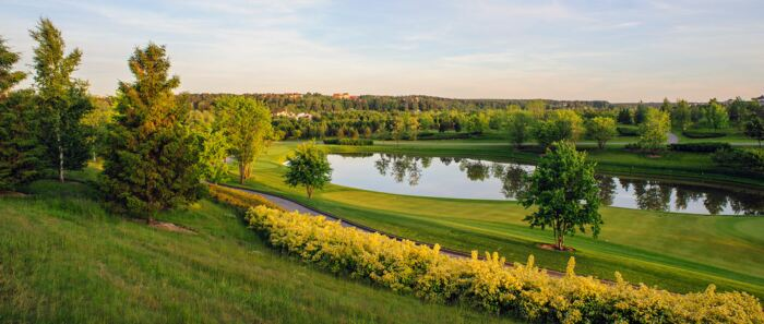 Top 4 golf courses in Russia