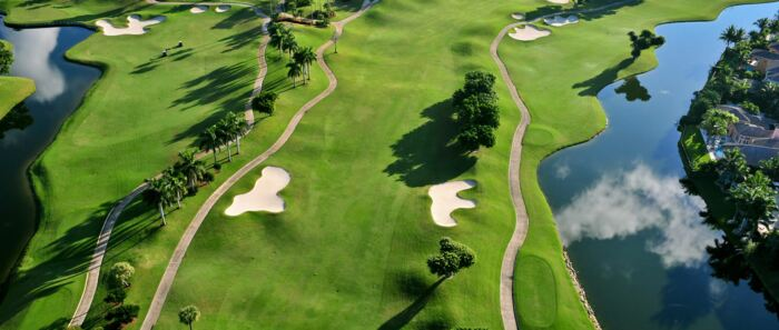 Hottest winter golf destinations