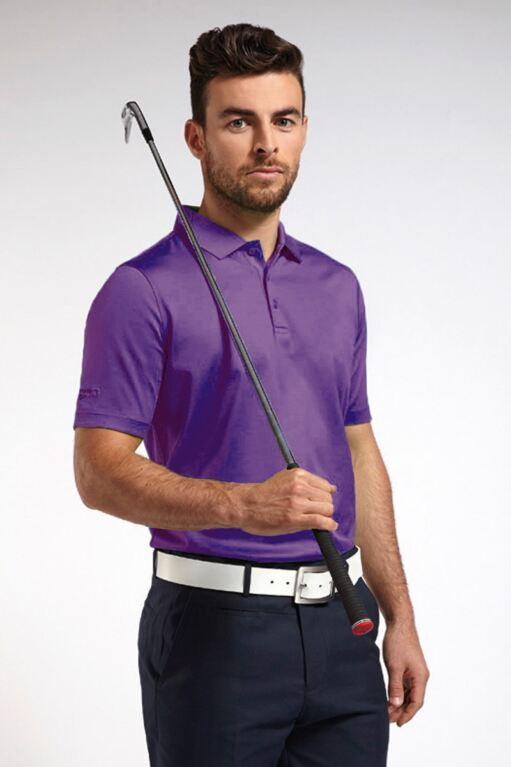 Mens Plain Mercerised Golf Polo Shirt - Sale