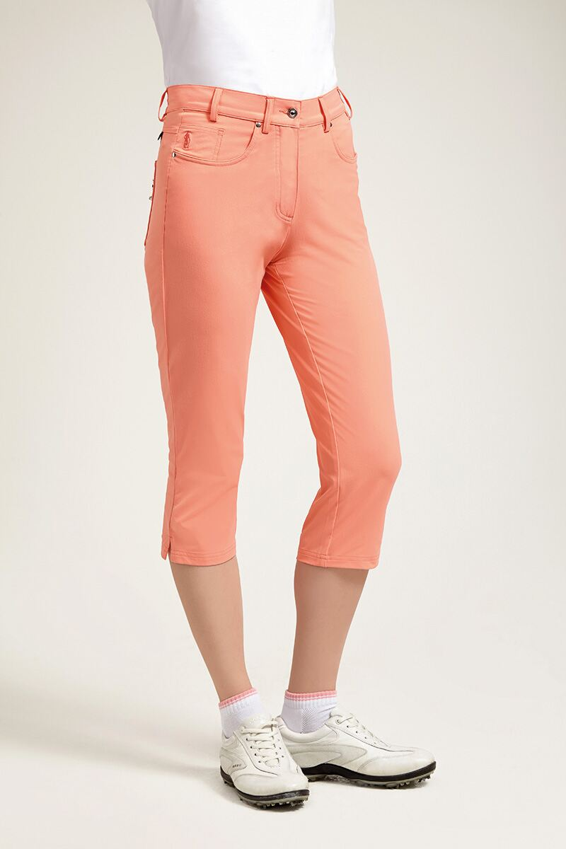 Ladies Performance Lightweight Stretch Golf Capri Pants - Sale