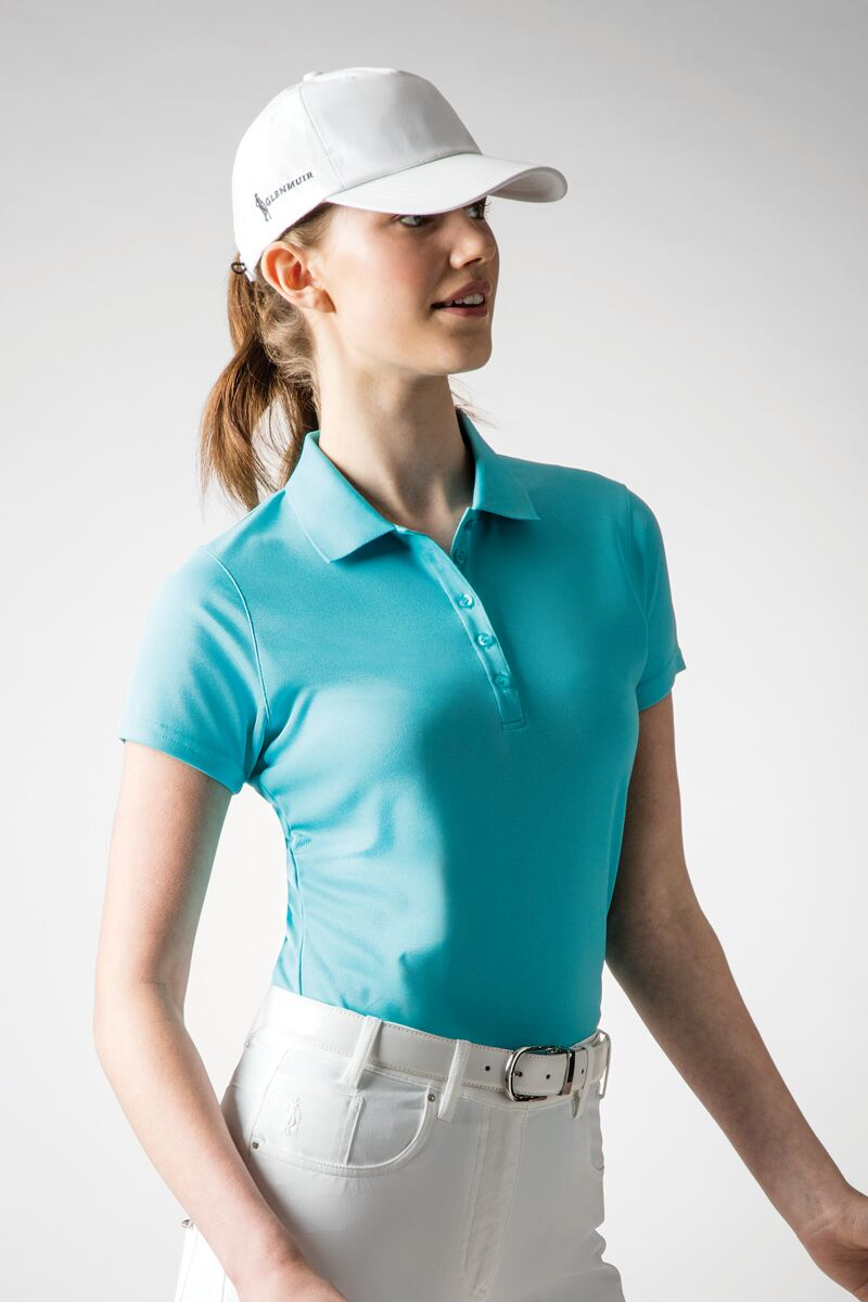Ladies Performance Pique Golf Polo Shirt