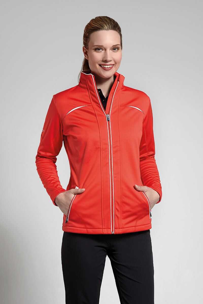 Ladies Bonded Fleece Golf Jacket - Sale
