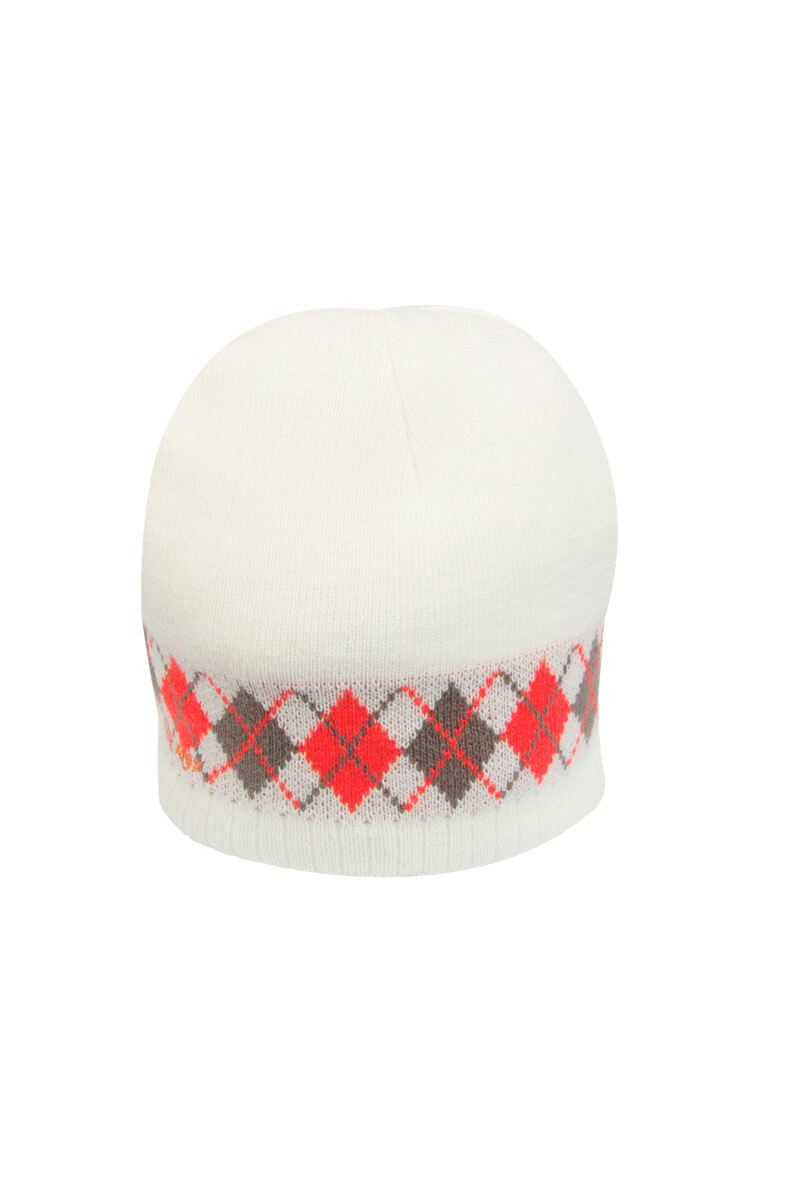 Ladies Argyle Beanie Golf Hat - Sale Product Image 1 04bb9e7445c
