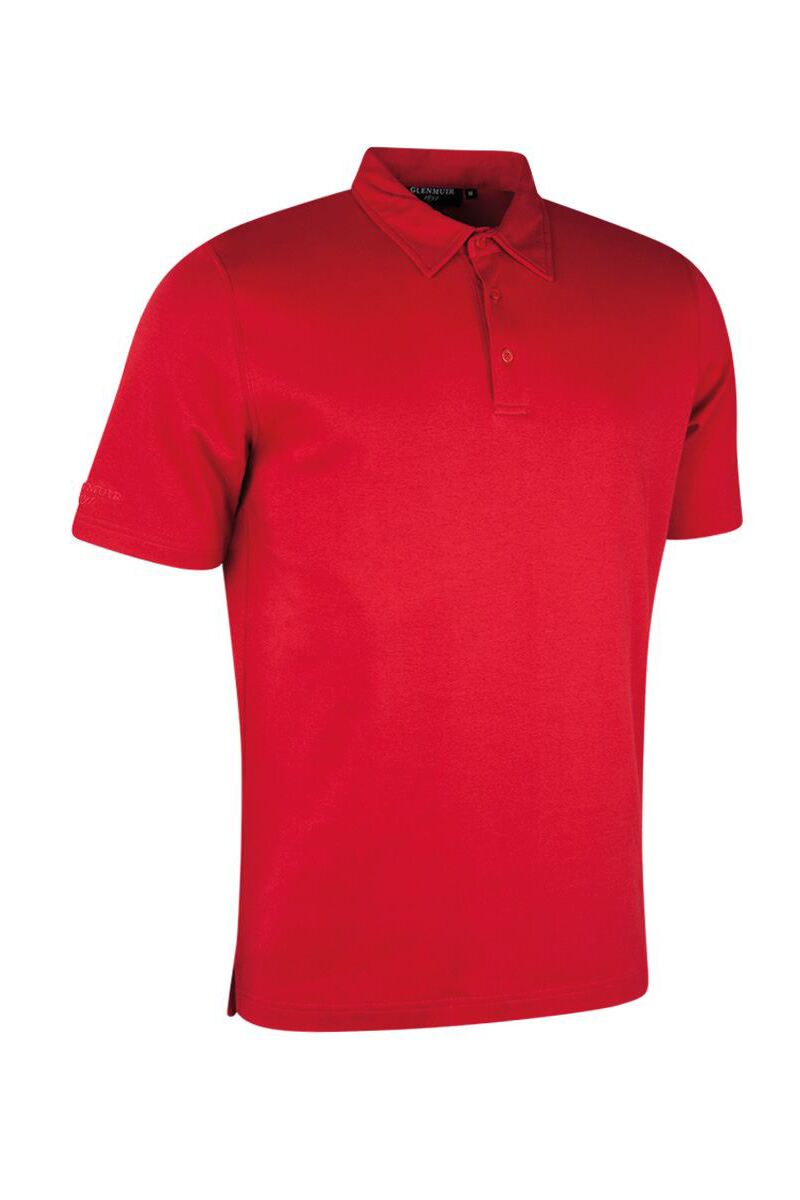 Mens Luxury Pima Cotton Golf Polo Shirt Product Swatch