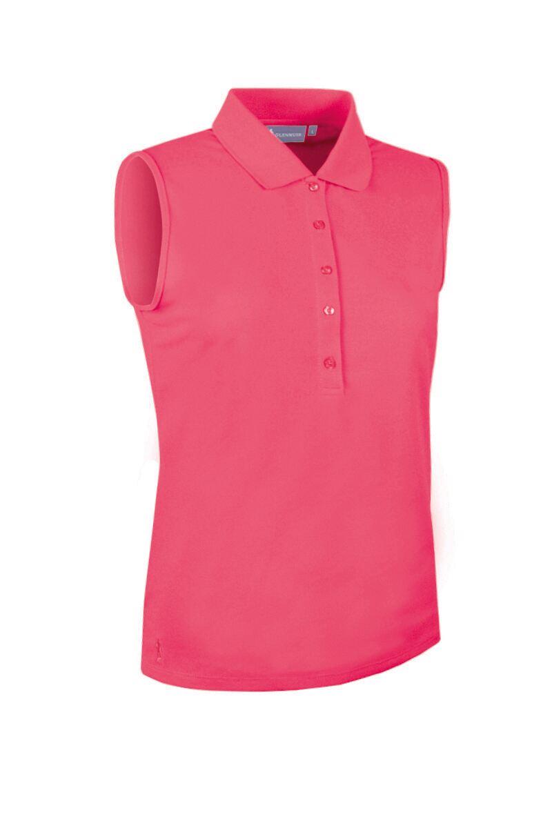 8f500f0c g.JENNA SALE. Ladies Performance Pique Sleeveless Polo ...