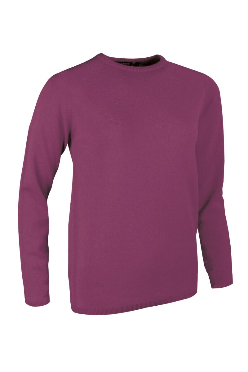 Ladies Crew Neck Cashmere Golf Sweater Product Swatch