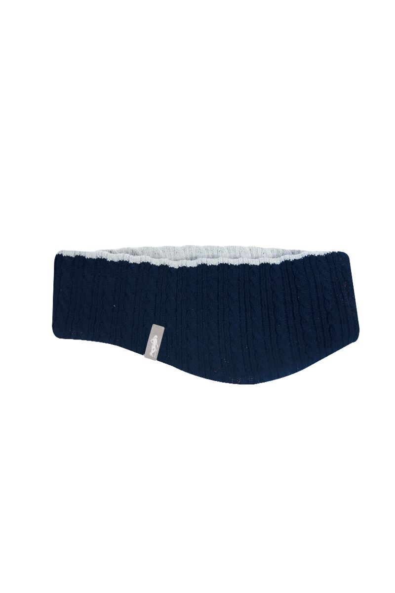 Ladies Reversible Cable Knit Golf Headband Product Swatch