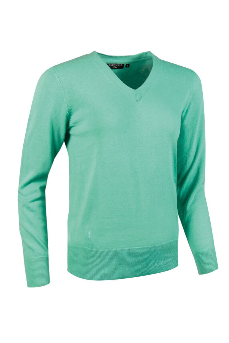 Ladies Supersoft Cotton V Neck Golf Sweater - Sale Product Swatch