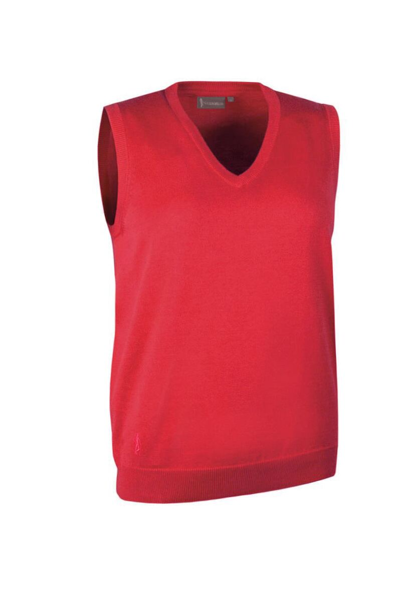 Ladies V Neck Cotton Golf Slipover Product Swatch