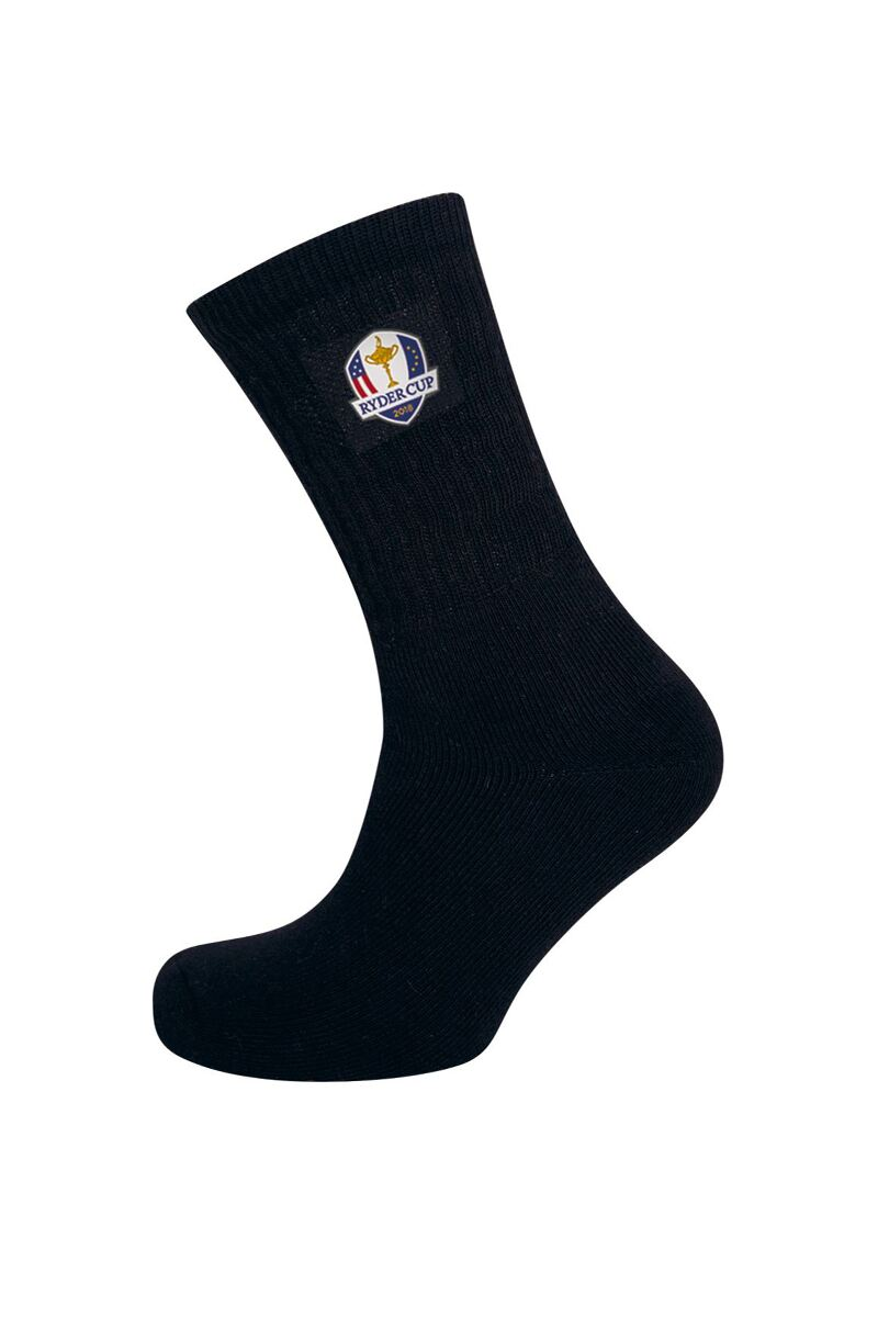 Official Ryder Cup 2018 Mens Crew Golf Socks Product Swatch