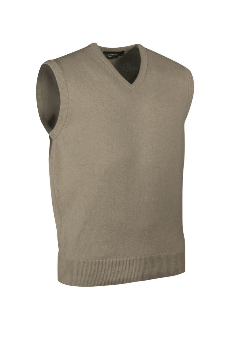 Mens V Neck Cashmere Slipover Product Swatch