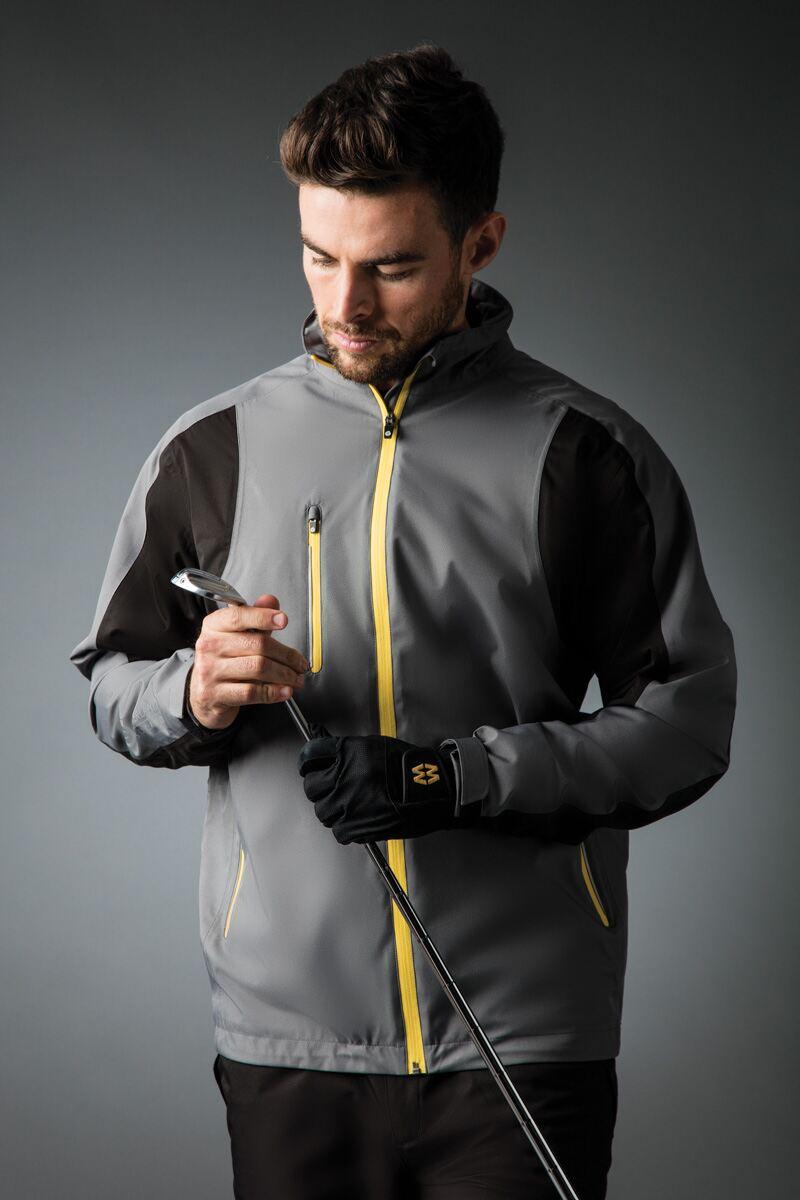 e34ad537e81b89 QUEBEC. Mens Technical Lightweight Waterproof Golf Jacket