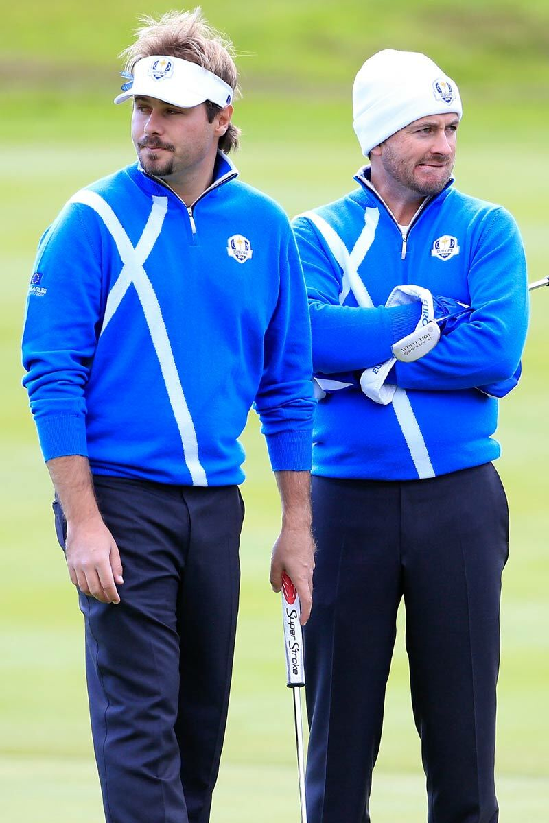 European Ryder Cup Team Saltire Zip Neck Sweater - Limited Edition Commemorative Sweater Product Image 3
