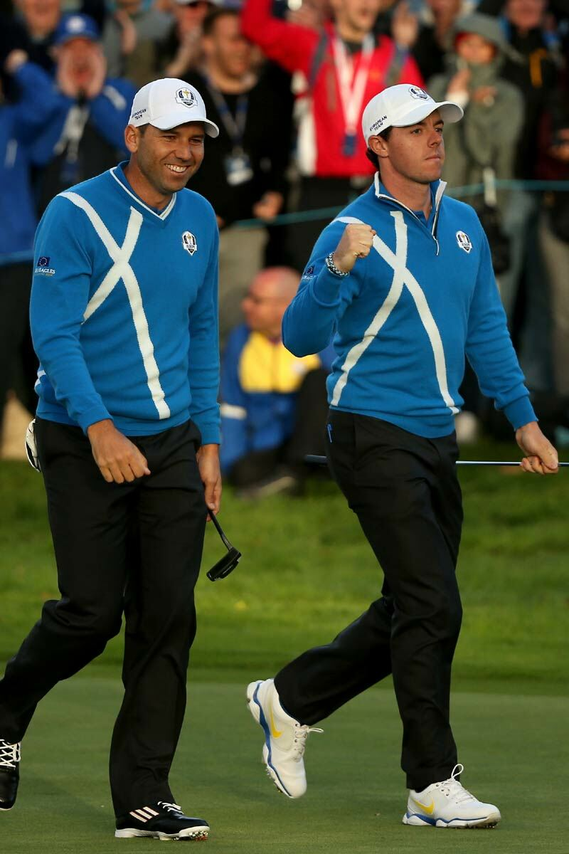 European Ryder Cup Team Saltire Zip Neck Sweater - Limited Edition Commemorative Sweater Product Image 4