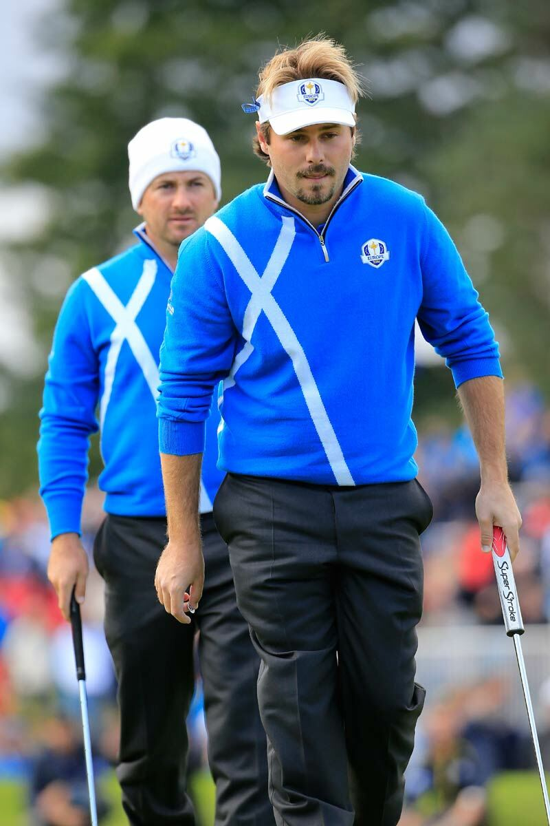 European Ryder Cup Team Saltire Zip Neck Sweater - Limited Edition Commemorative Sweater Product Image 5