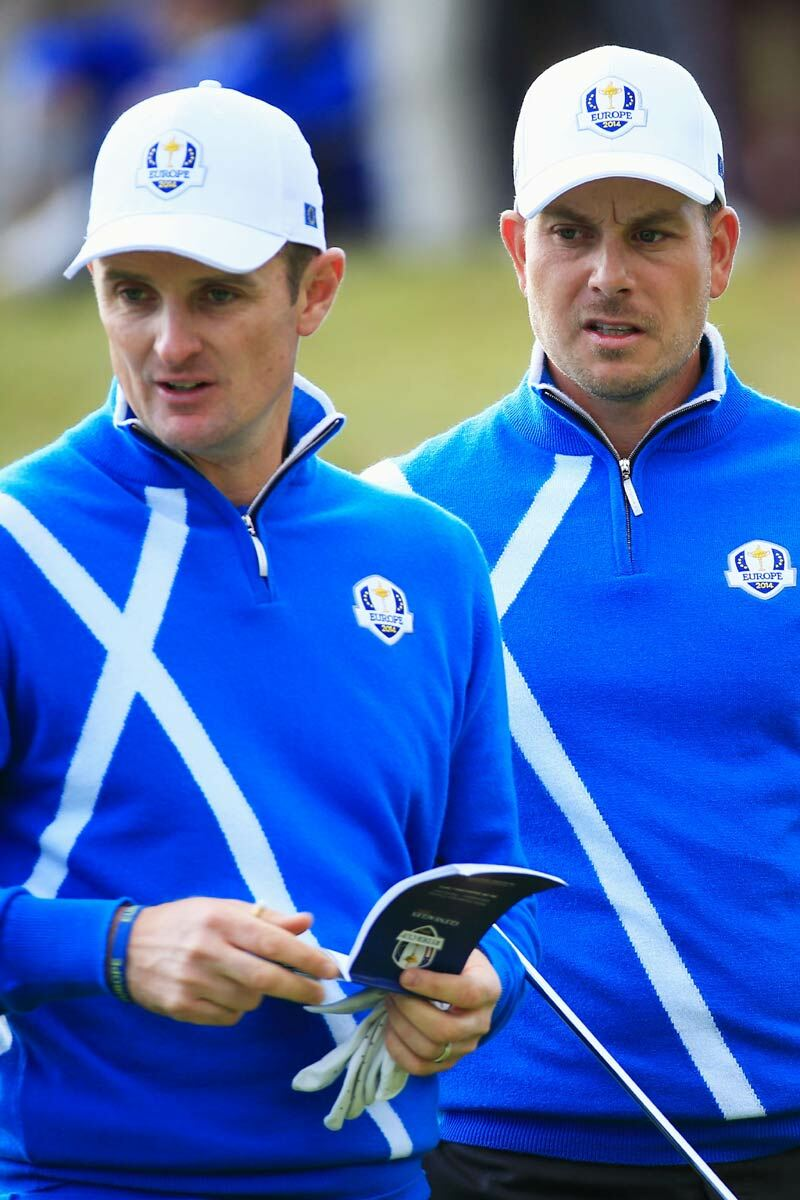 European Ryder Cup Team Saltire Zip Neck Sweater - Limited Edition Commemorative Sweater Product Image 6