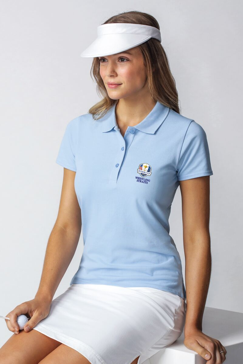 Official Ryder Cup 2020 Ladies Cotton Pique Golf Polo Shirt