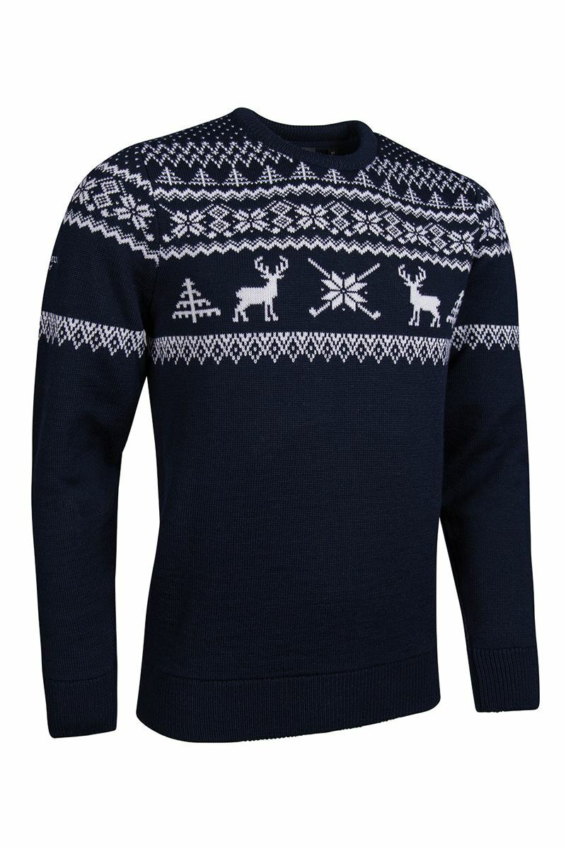 Mens Fairisle Patterned Sweater Product Image 5