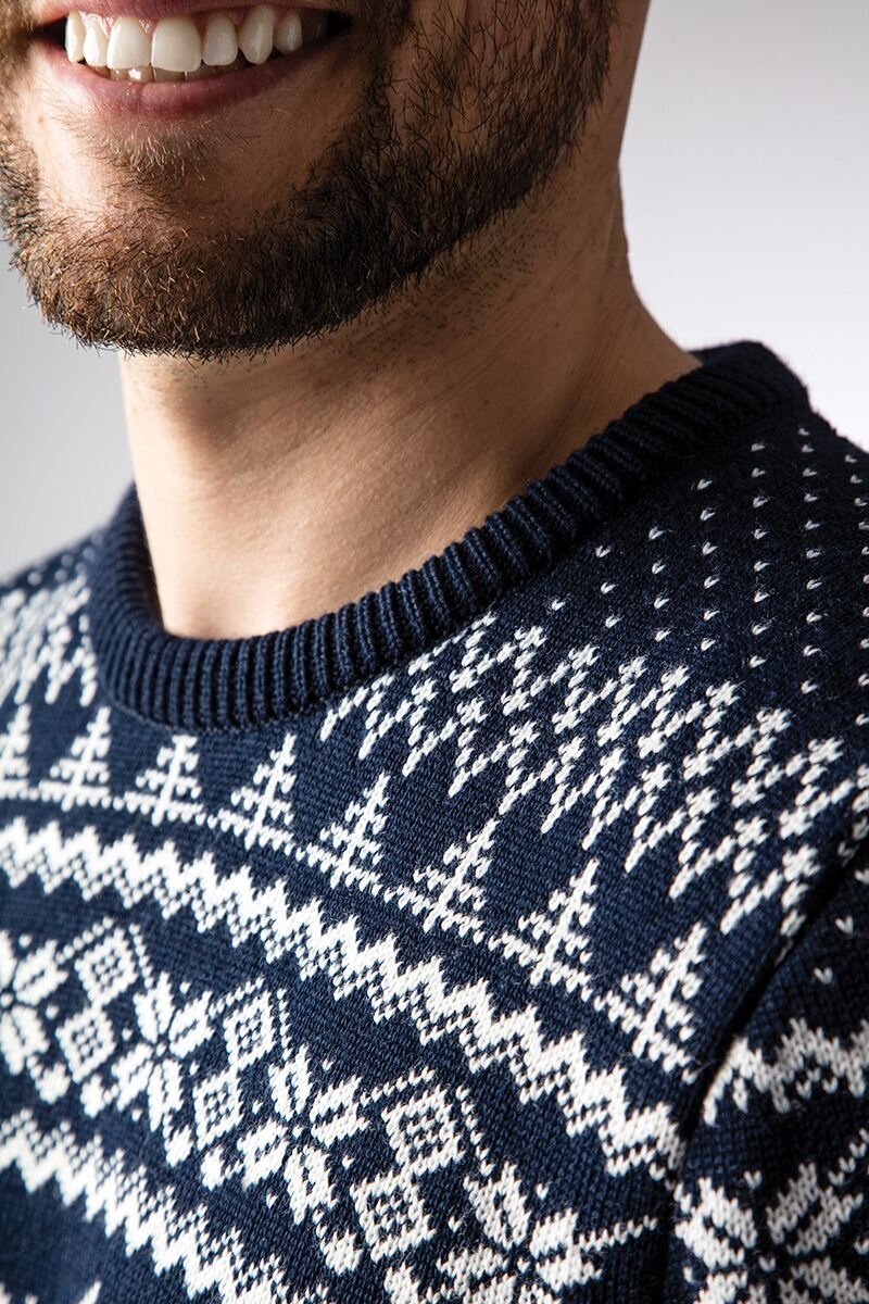 Mens Fairisle Patterned Sweater Product Image 3