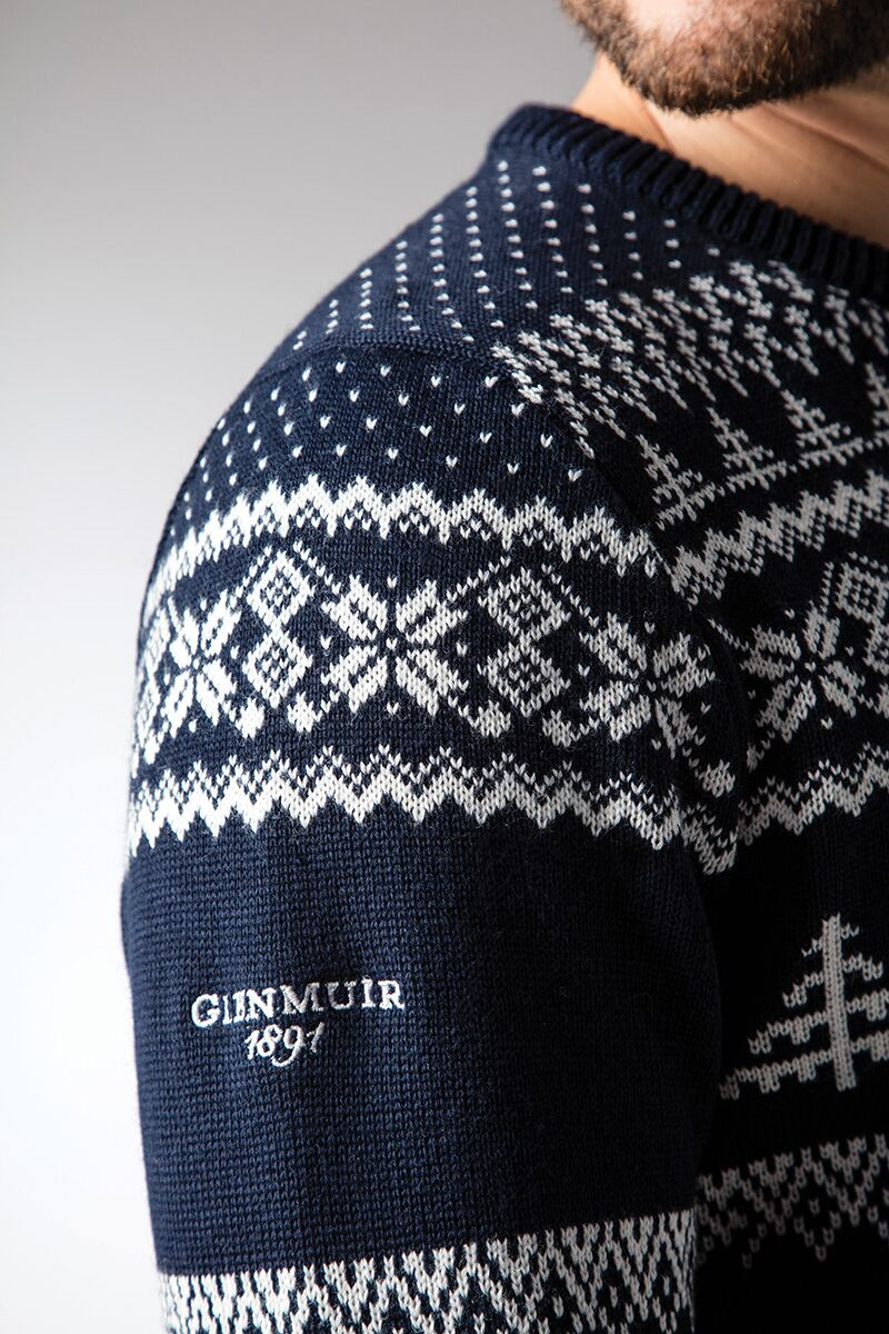 Mens Fairisle Patterned Sweater Product Image 4