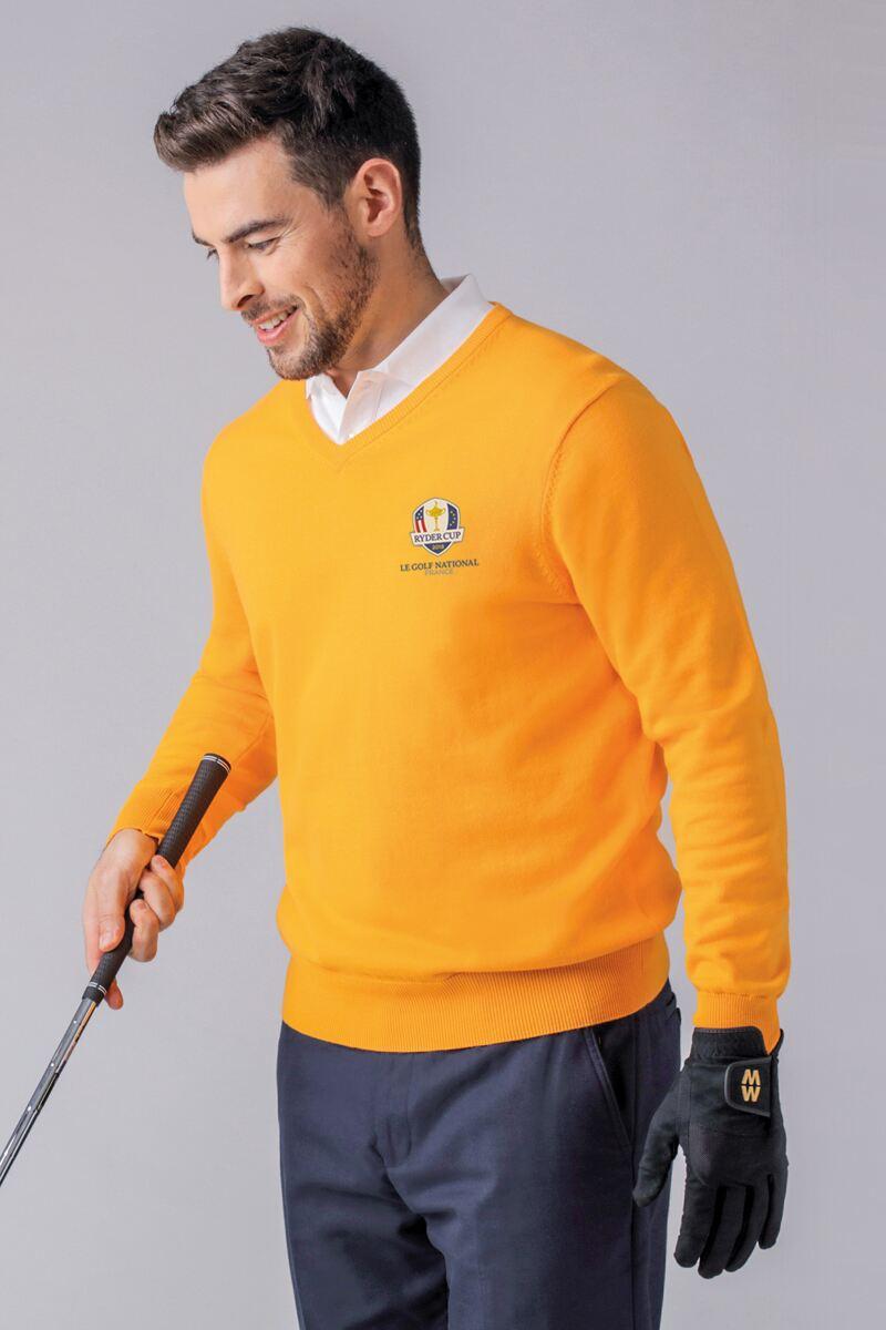 Merino Wool V Neck Sweater
