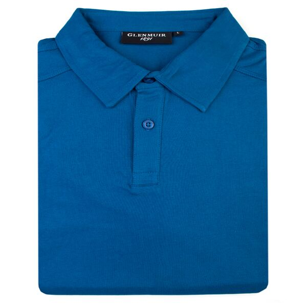 Button Collar Golf Polo Shirt