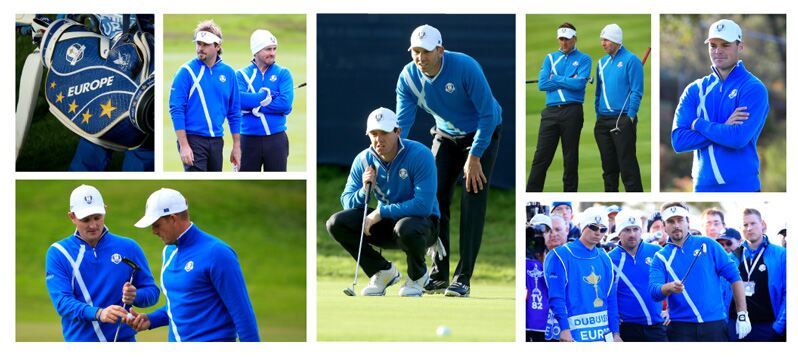 2014 European Ryder Cup Team © Getty Images