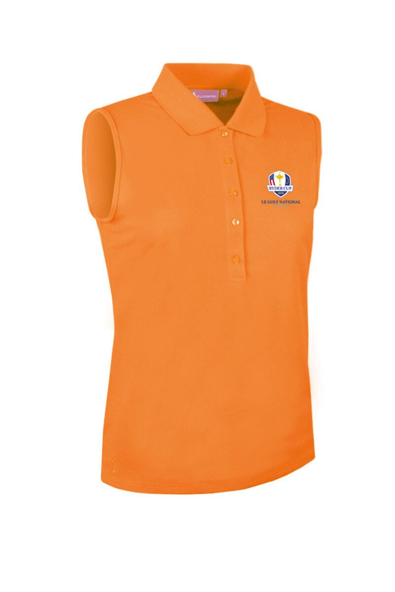 9d323542 Official Ryder Cup 2018 Ladies Performance Pique Sleeveless Polo ...