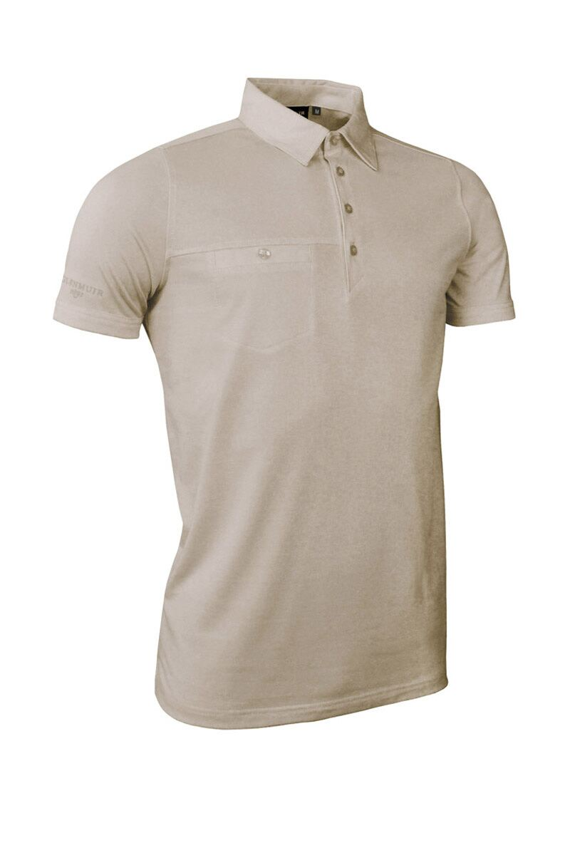 Glenmuir Mens Chest Pocket Golf Polo Shirt