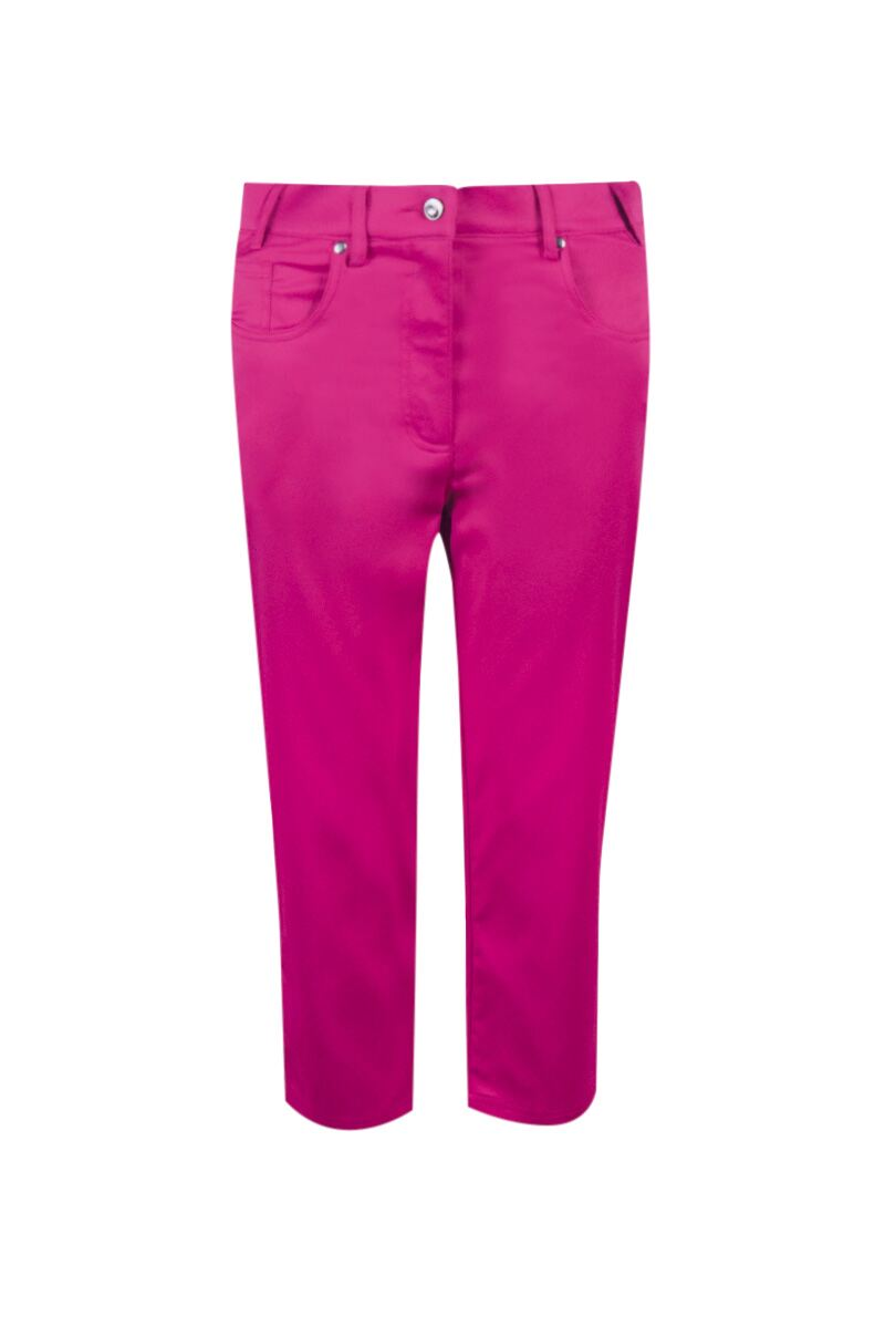 Ladies Glenmuir Performance Lightweight Stretch Golf Capri Pants