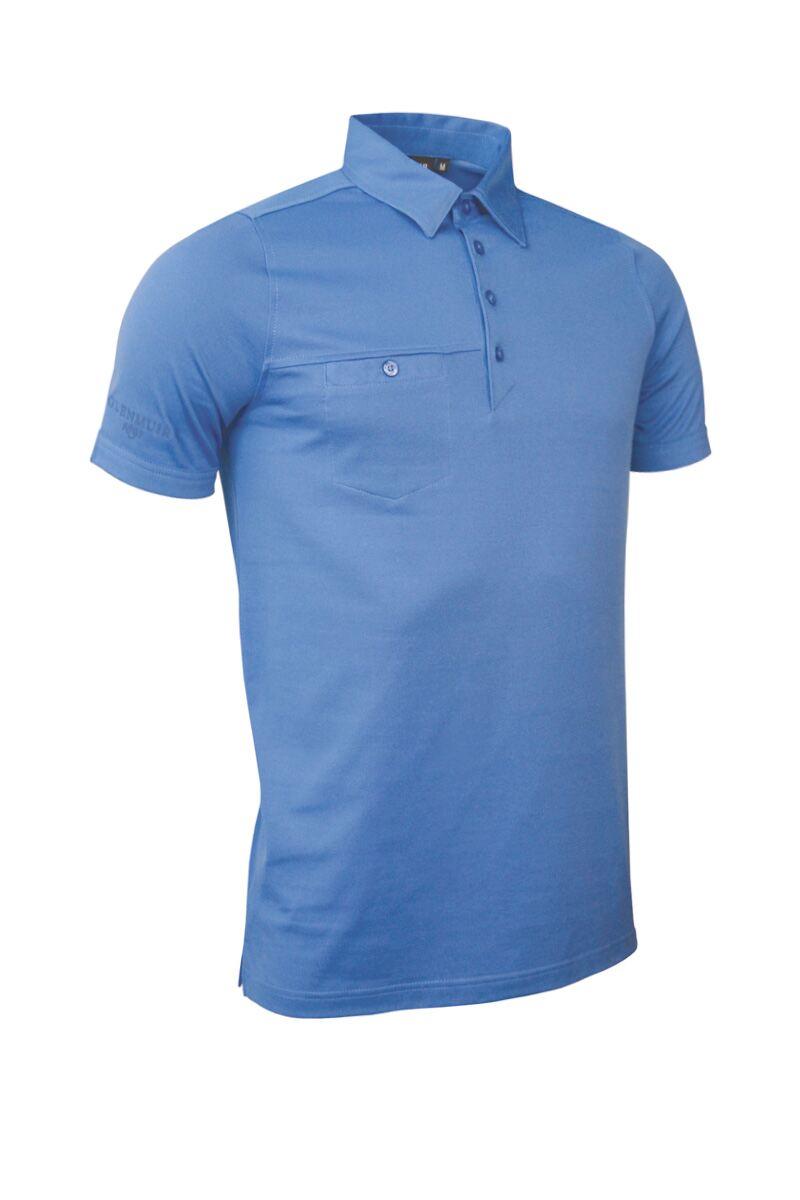 Mens Glenmuir Chest Pocket Golf Polo Shirt