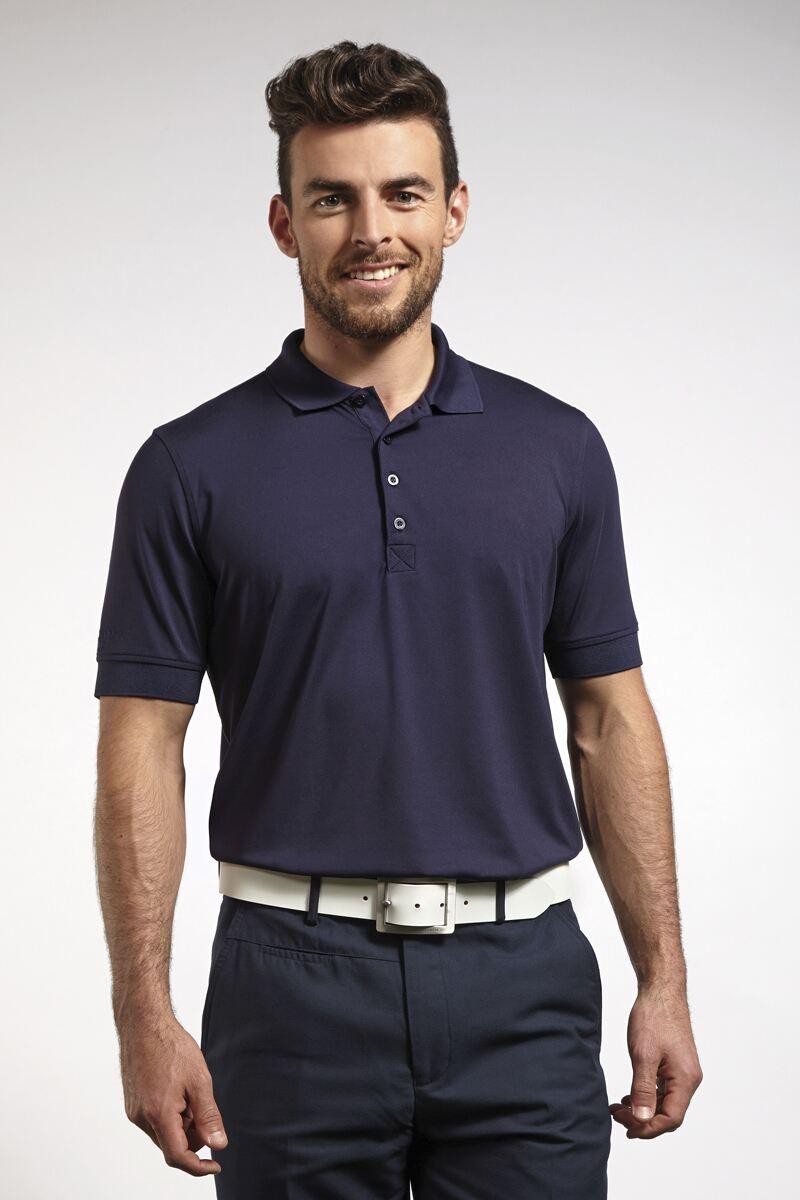 Mens glenmuir performance stretch golf polo shirt sale for Polo golf performance shirt