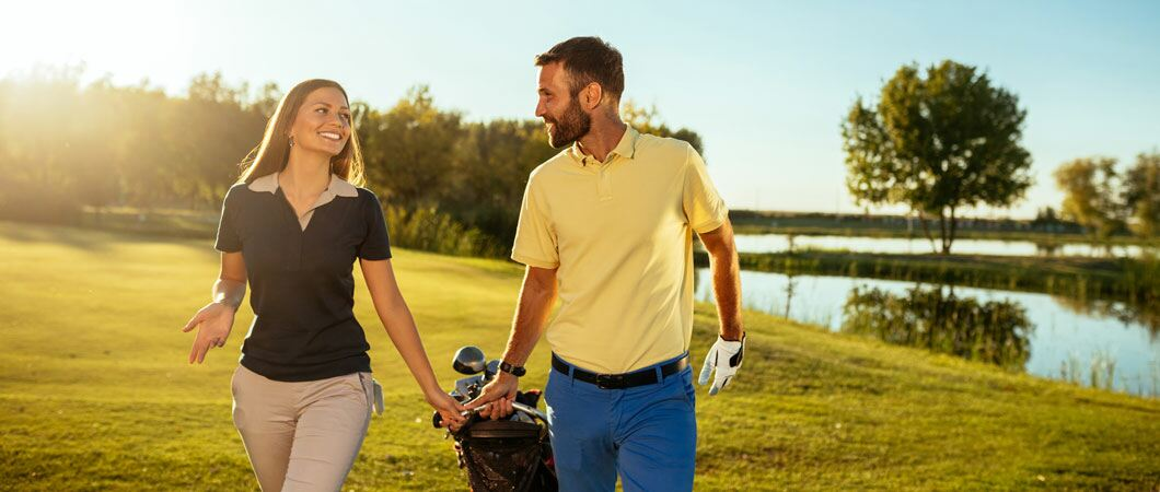 6 tips to get your partner into golf