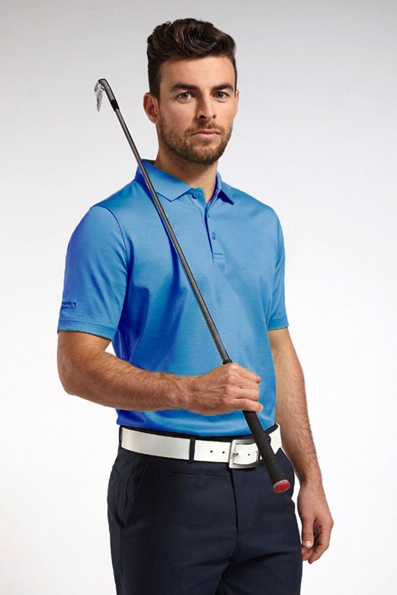 Glenmuir Mens Plain Mercerised Golf Polo Shirt - Sale