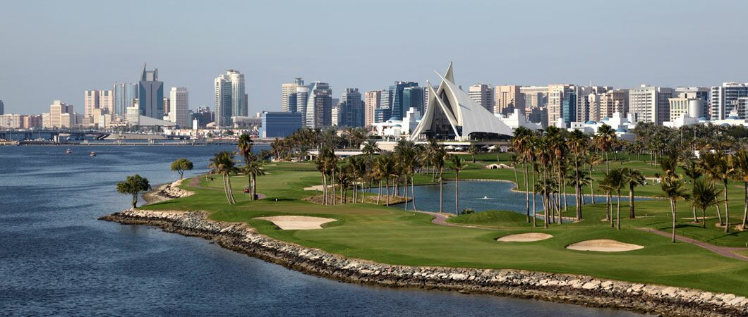 The best golf courses in the UAE