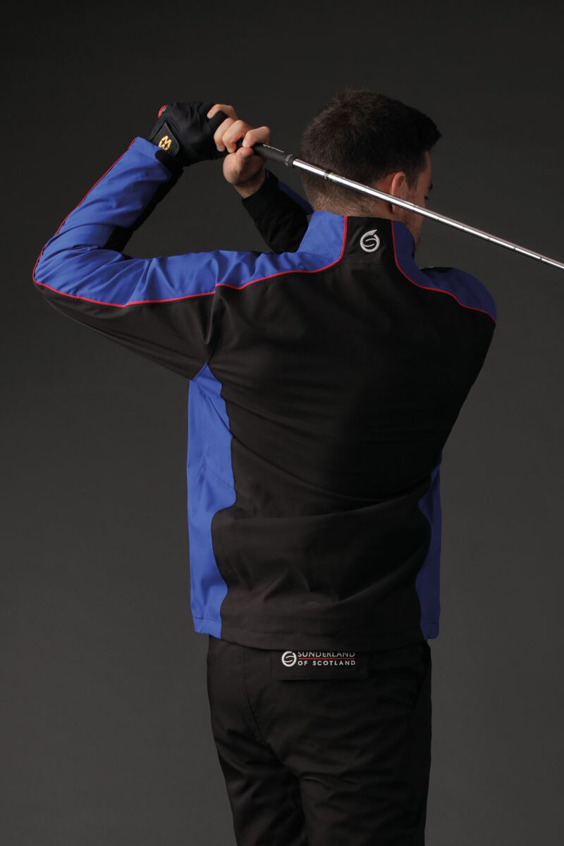 9a87479b9f3 Mens Panelled Waterproof Golf Jacket - Sale Product Image 1