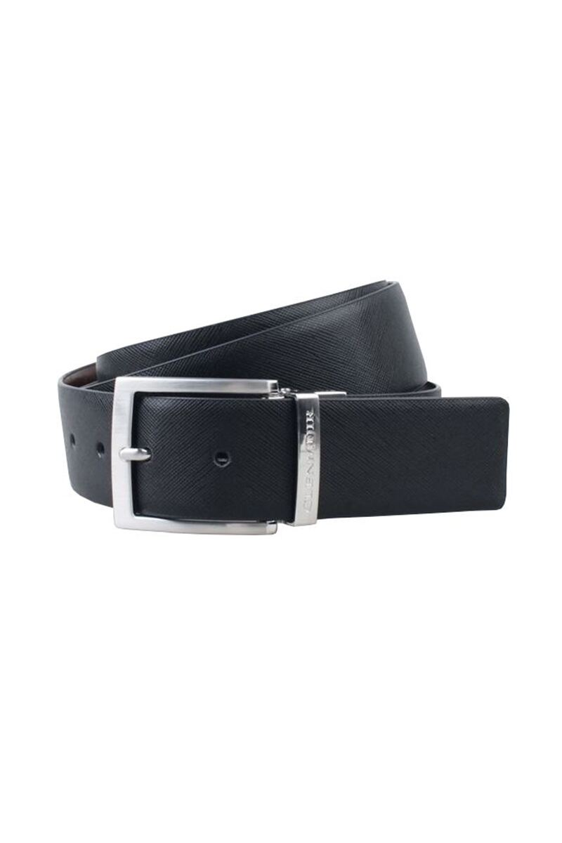 Mens Leather Reversible Golf Belt